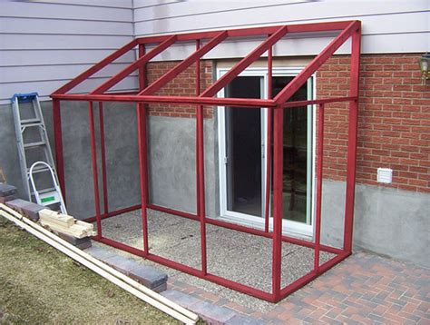 diy screen room diy temporary sun room with plastic shower curtain quot windows quot ecorenovator