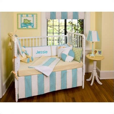 beach crib bedding beach themed nursery for liam pinterest nurseries