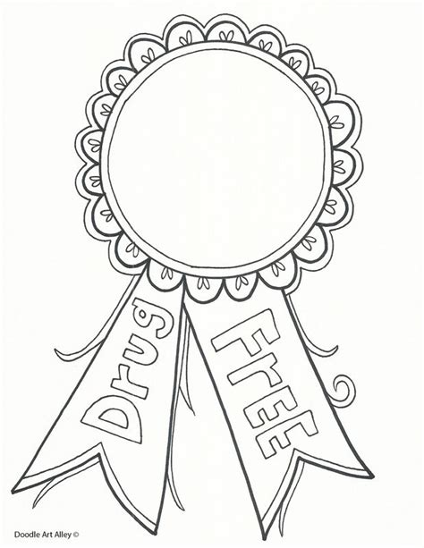 coloring pages for ribbon week the 25 best ribbon ideas on ribbon