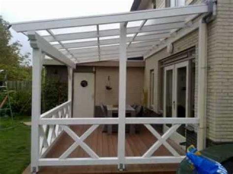 veranda zelf maken terrasoverkapping hoe bouw ik zelf een douglas veranda