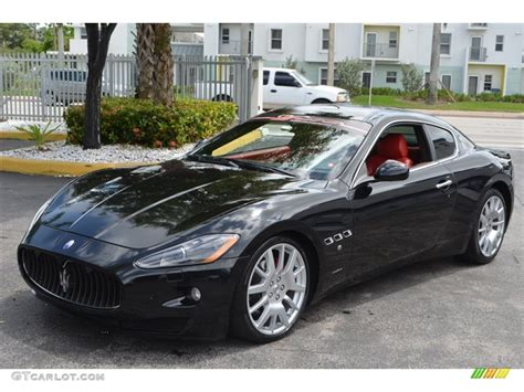 maserati red and black 2008 nero black maserati granturismo 84908132