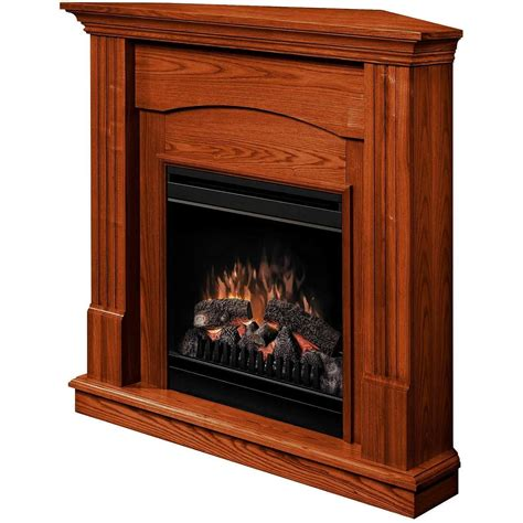 Corner Electric Fireplace Dimplex Dfp3696o 48 Inch Branson Corner Electric Fireplace With Mantel Bbq