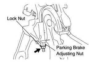 Highlander Check Brake System Repair Guides Parking Brake Parking Brake Shoes 1