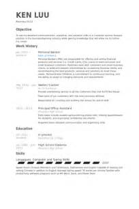 personal banker resume templates personal banker resume sle