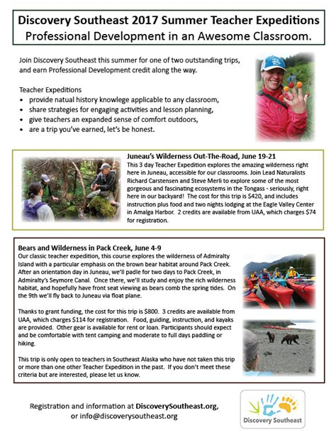 comfort systems usa southeast 2017 summer teacher expeditions discovery southeast