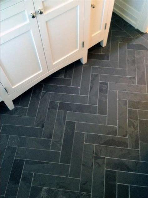 slate floor bathroom