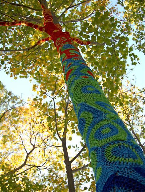 tree crochet tree crochet photograph by newwwman