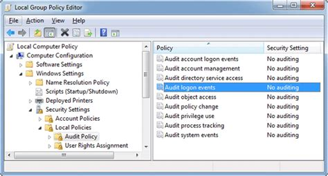event viewer monitor user account activity in windows 8 windows 8 audit logon events password recovery