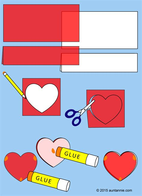 How To Make A Chain Of Hearts Out Of Paper - how to make a garland of hearts s