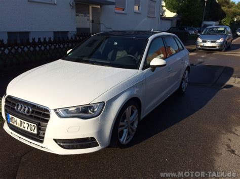 Audi Neuwagengarantie by Audi A3 Sportback 1 4 Tfsi Ambition S Line Cod 5 Jahre