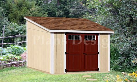 lean  storage shed plans small lean  shed  cabin