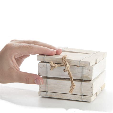 washed wood box l nautical white washed wood box on sale wedding