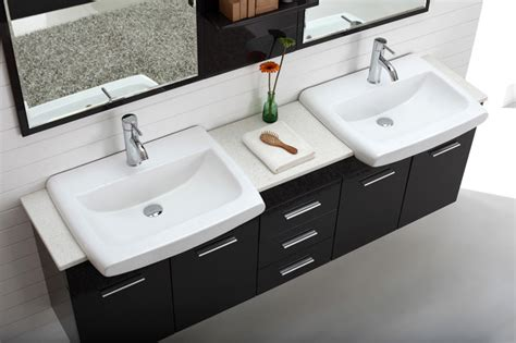 double sink basin for bathrooms double basin wall hung bathroom vanity roma