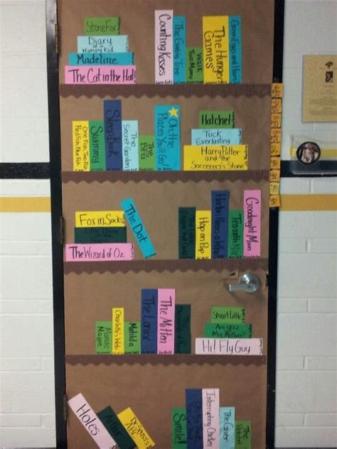 themes for reading week my door for literacy night ideas for my classroom