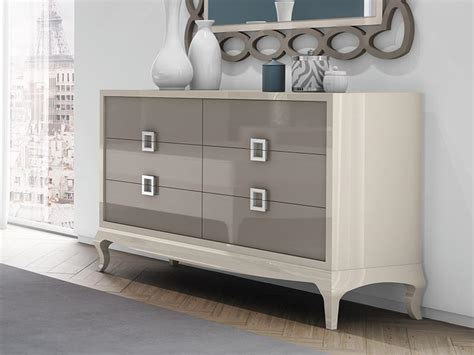 Modern Drawers by Modern Giulietta Chest Of 6 Drawers In Choice Of High