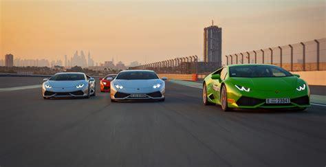 Lamborghini Car Dubai Lamborghini Holds Middle East Accademia In Dubai