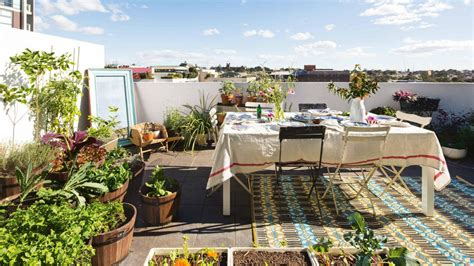 Rooftop Gardening Ideas Types Of Plant To Decorate Roof Garden Theydesign Net Theydesign Net