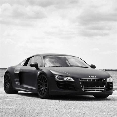 Audi R8 Matt Schwarz by Matte Black Audi R8 Manteresting