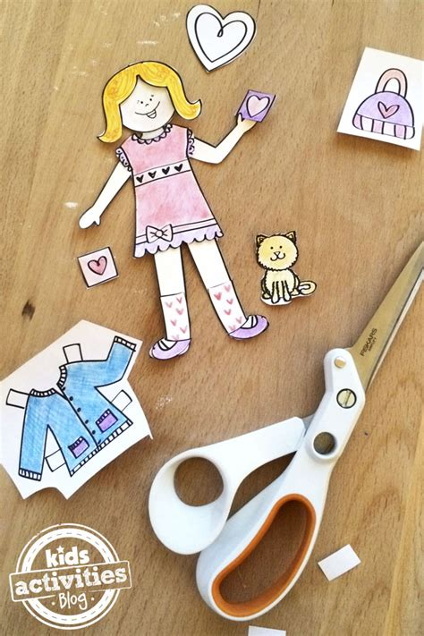 design your doll love paper doll printable