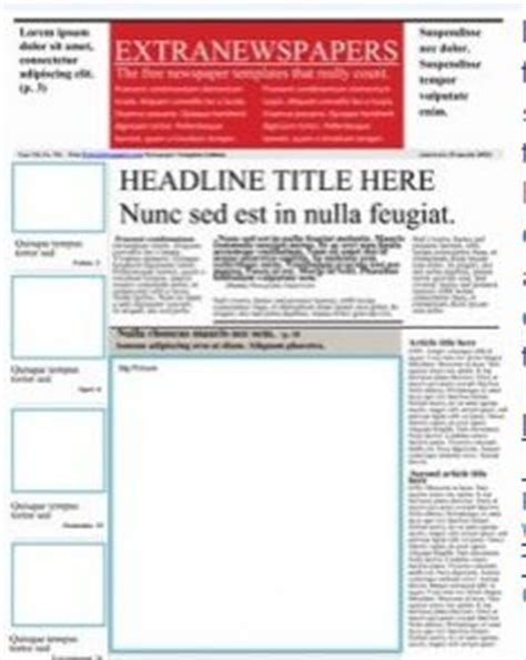 1000 Images About Class Newspaper Ideas On Pinterest 1000 Images About Newspaper Template On