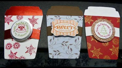 Coffee Shop Gift Cards - gift card holder for coffee shop gift cards or any occasion youtube