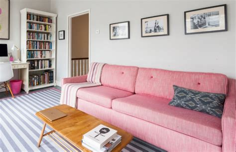Pink Sofa Living Room by 18 Pink Sofa Living Room Designs Ideas Design Trends