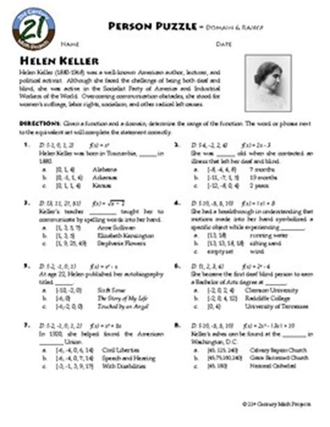 helen keller biography worksheet helen keller worksheets free worksheets library download