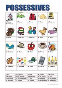 296 free esl pronouns possessive pronouns e g my mine