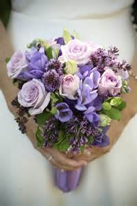purple wedding bouquets green purple wedding colors lilac and green wedding colors