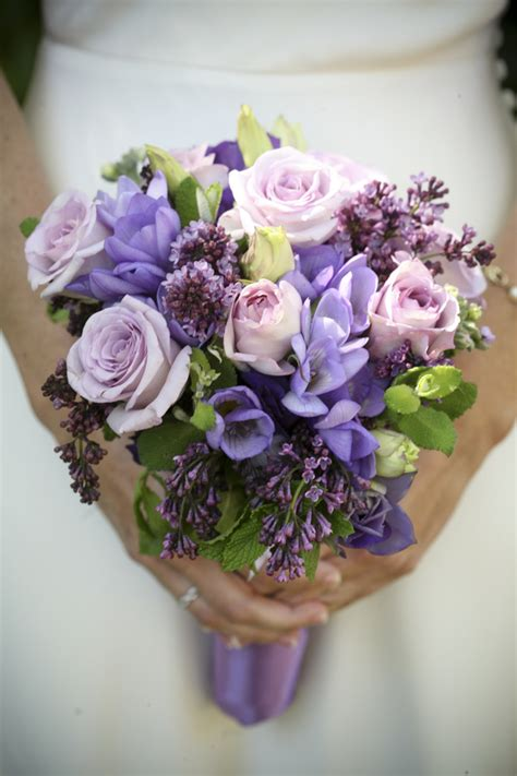 Purple Flowers Wedding by Purple Wedding Flowers Bitsy