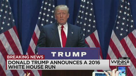 donald trump is running for president in 2016 donald trump is running for president in 2016
