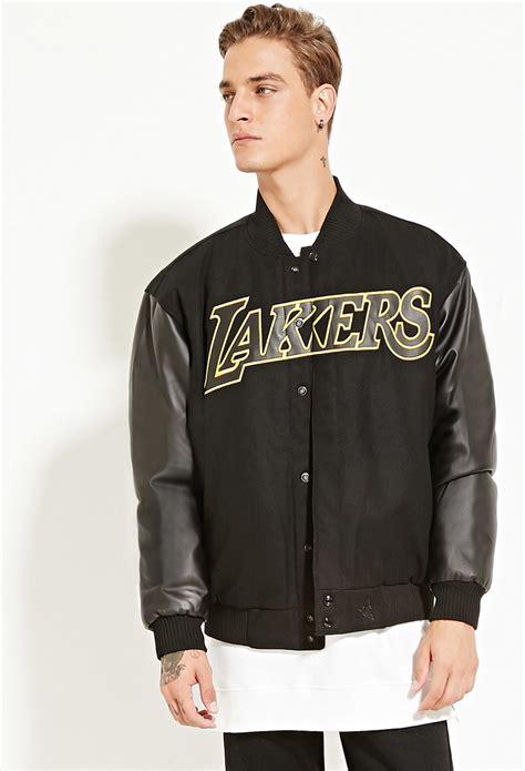 jacket design black forever 21 jh design reversible lakers jacket in black for