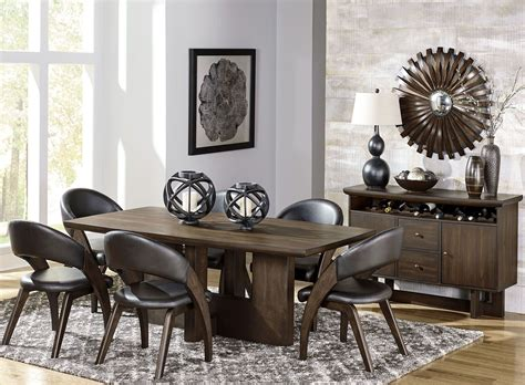 Brown Dining Room Set by Onofre Brown Dining Room Set From Homelegance Coleman