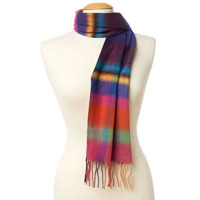 v fraas vfraas ombre plaid cashmink scarf where to buy