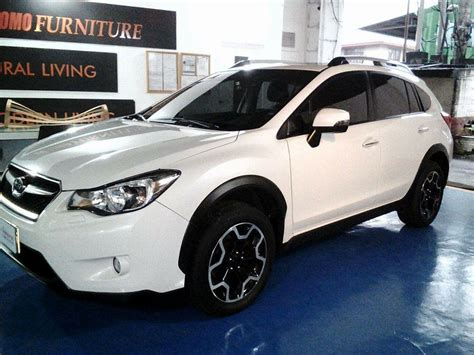 subaru xv white glass carcoating subaru xv 2016 white samurai carcoating