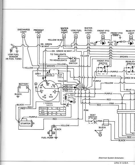 deere 430 garden tractor parts diagram wiring