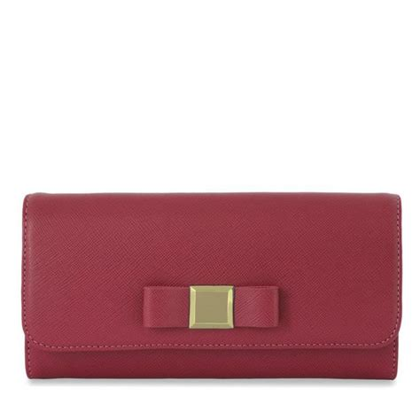 charles keith wallet with ribbon styles