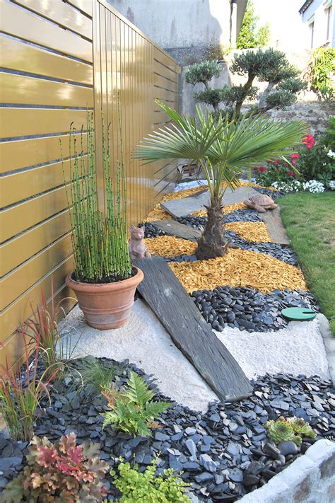 Deco Plante Exterieur by Plante D 233 Coration Ext 233 Rieur Galet Decoration Jardin Pas