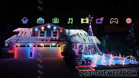 christmas themes ps3 ps3 themes 187 holiday seasonal