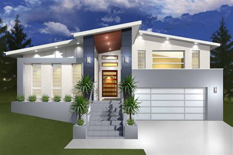 hinchinbrook split level sloping block marksman homes