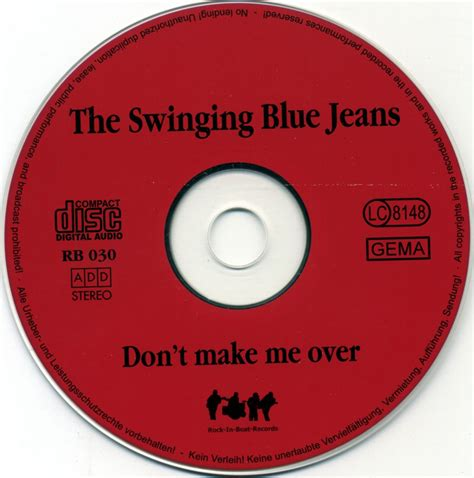 The Swinging Blue Jeans Don T Make Me Over 1998 Avaxhome