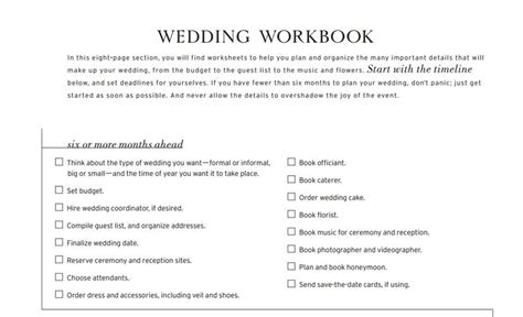 Wedding Checklist Printable The Knot by 11 Free Printable Checklists For Your Wedding Timeline