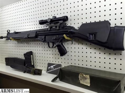 east county guns elma wa armslist for sale hk 91 pre ban original kit ammo scope mags bags etc