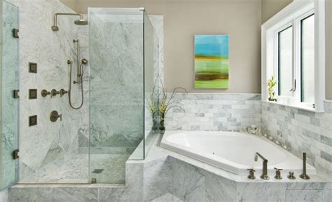 bathroom tiles models fresh designs built around a corner bathtub