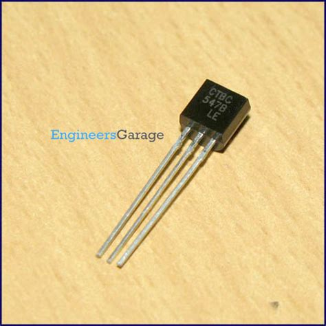 transistor bc547 data bc547 transistor bc547 pinout pdf datasheet engineersgarage