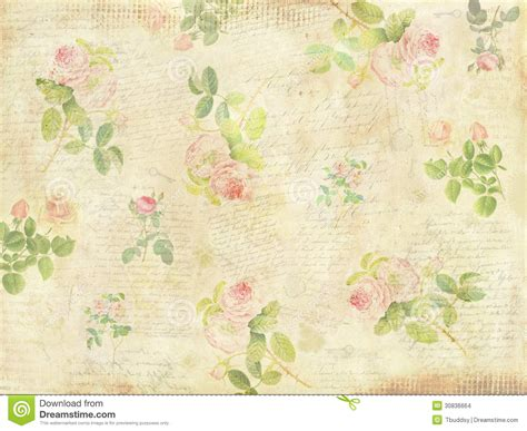 vintage floral background stock illustration illustration