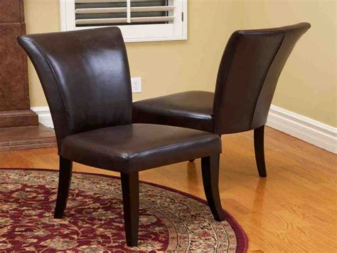 Brown Dining Room Chairs by Brown Leather Dining Room Chairs Decor Ideasdecor Ideas