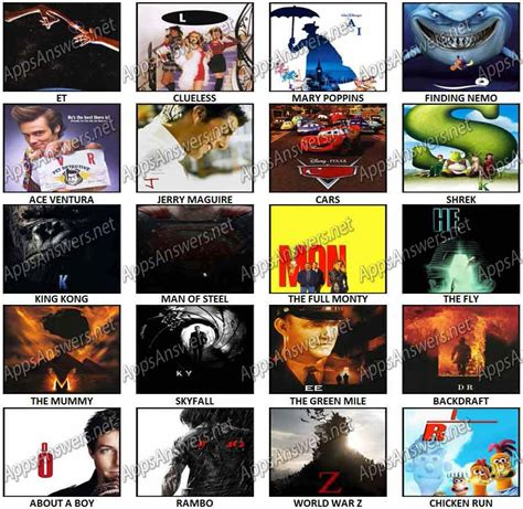 film logos quiz answers 8 best images of 100 pics answers movie logos 100 pics