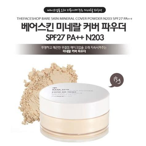Tfs Bare Skin Mineral Cover Powder Spf27 Pa V201 top 15 thương hiệu phấn phủ tốt nhất chị em n 234 n sử dụng