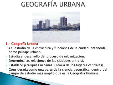 imagenes geografia urbana 1 geograf 237 a urbana ecotec